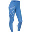 2XU W's Mid-Rise Compression Tights Pacific Blue/Silver logo